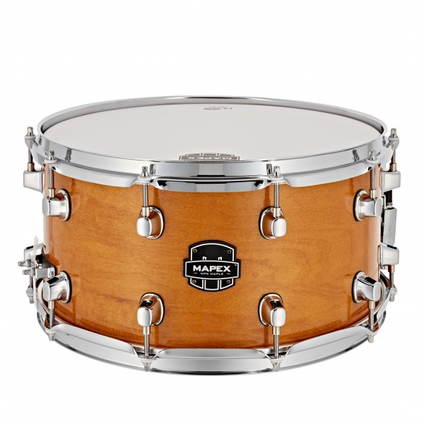 """Mapex MPX 14"""" x 7"""" Maple Snare Drum, Natural Gloss"""