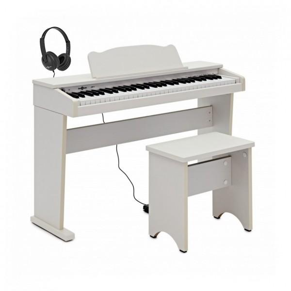 JDP-1 Junior Digital Piano with Headphones, White