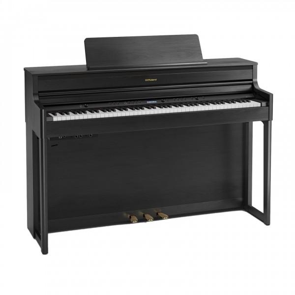 Roland HP704 Digital Piano, Charcoal Black