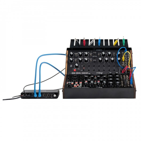 Moog Sound Studio Semi-Modular Synthesizer Bundle - Synth and Summing Mixer