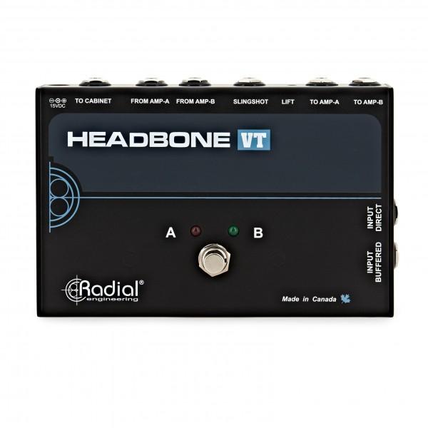 Radial Tonebone Headbone VT Valve Tube Head Switcher