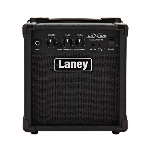 Laney LX10B 10 Watt Bass Guitar Combo Amp, Black