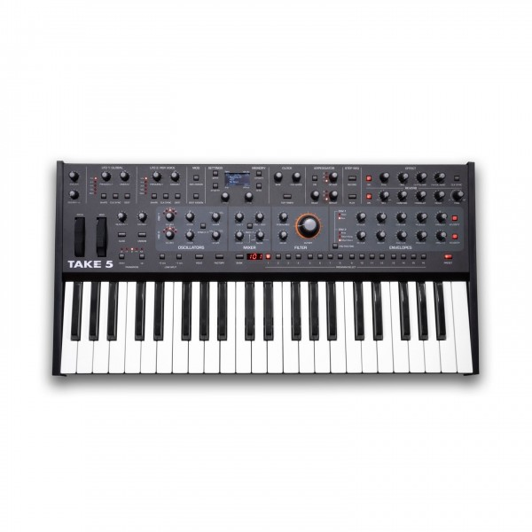 Sequential Take 5 Five-Voice Poly Synth - Top