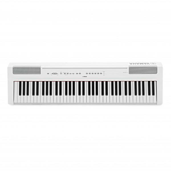 Yamaha P121 Digital Piano, White