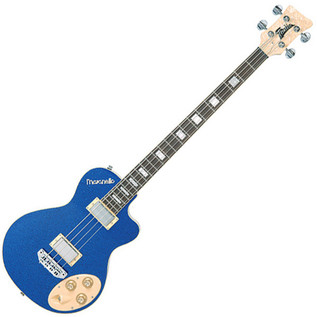 Italia Maranello Classic Bass Guitar, Blue