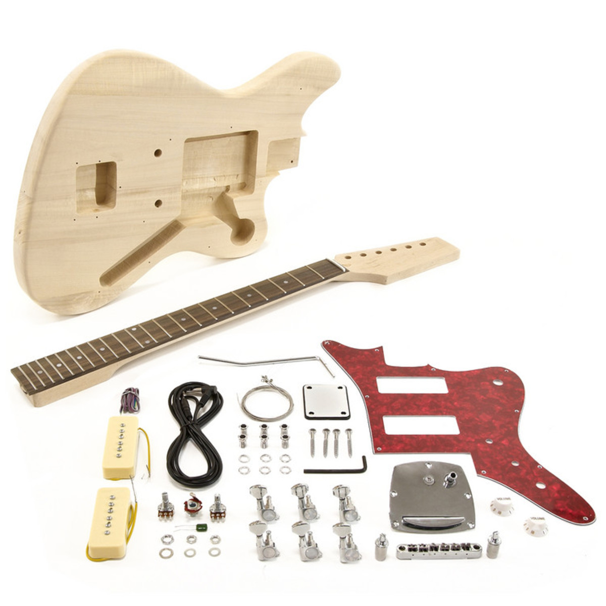 seattle jazz electric guitar diy kit at gear4music. Black Bedroom Furniture Sets. Home Design Ideas