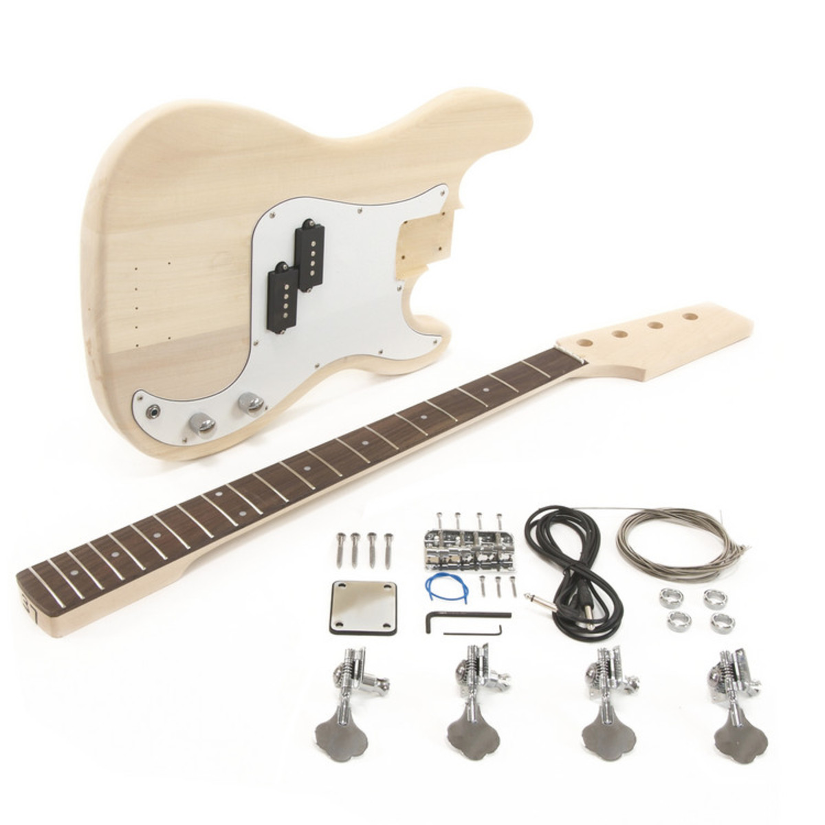 la electric bass guitar diy kit at gear4music. Black Bedroom Furniture Sets. Home Design Ideas