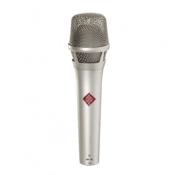 Neumann KMS 105 Handheld Condenser Vocal Microphone, Nickel