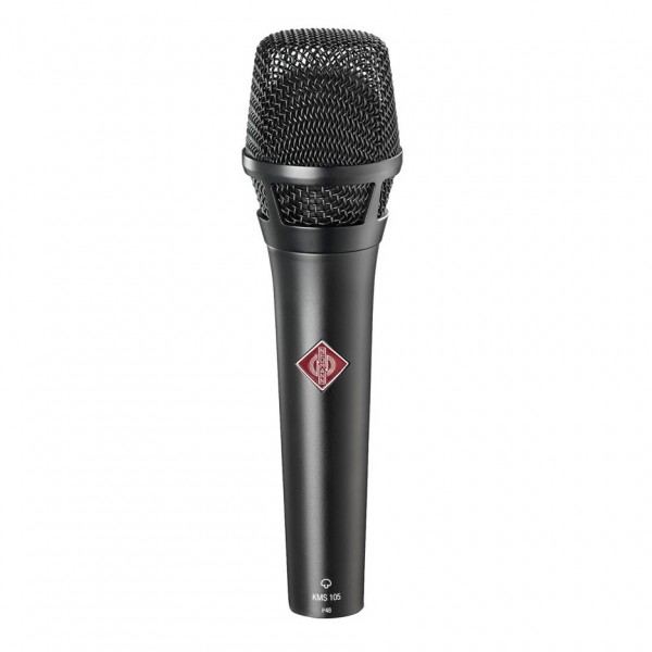 Neumann KMS 105 MT Super Cardioid Condenser Vocal Mic (Black)