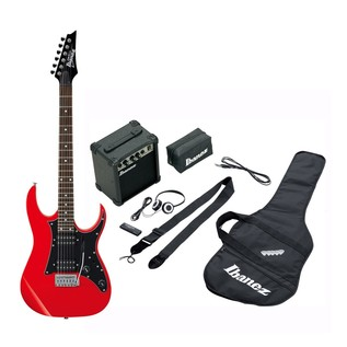 Ibanez IJRG200 Jump Start Electric Guitar Pack, Red