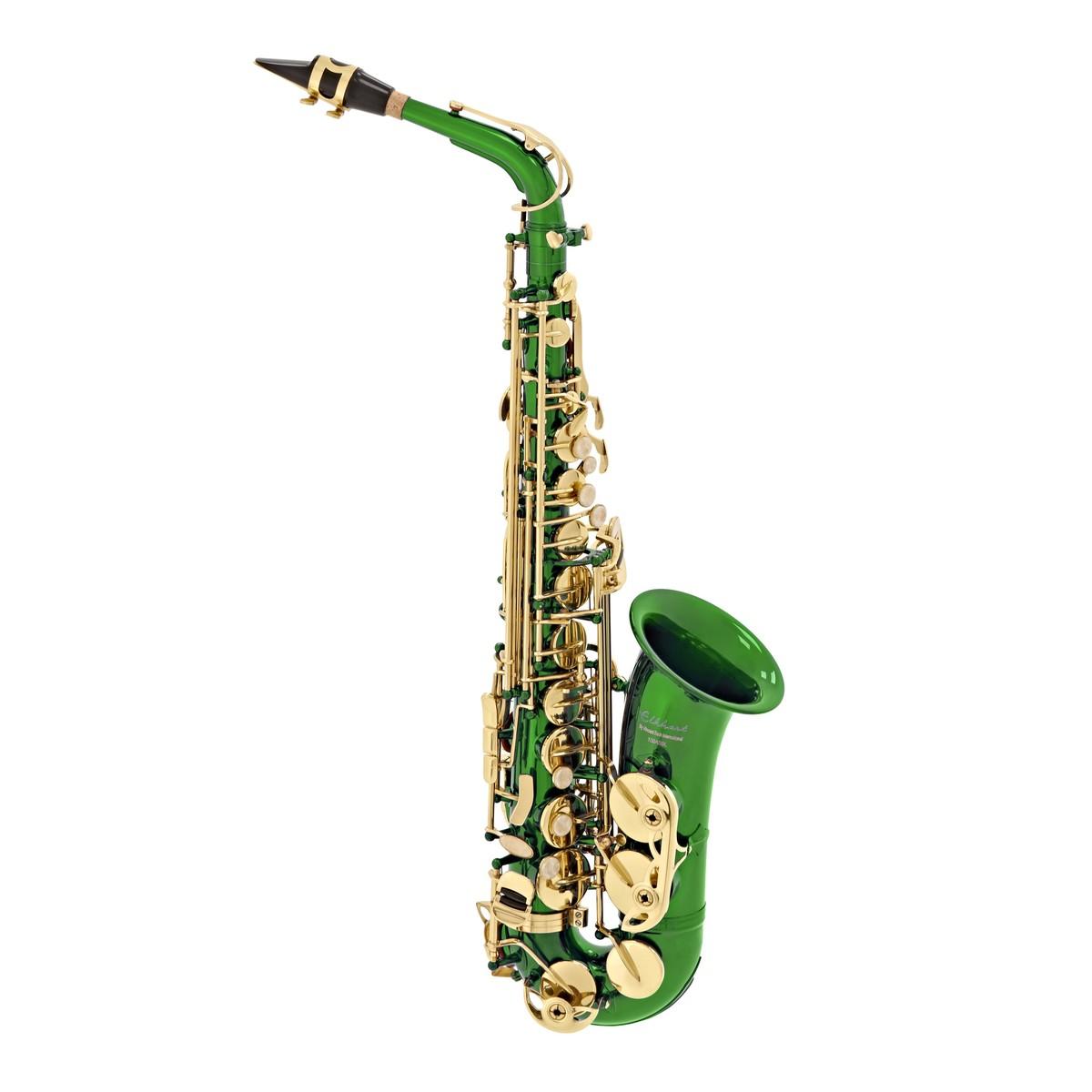 Elkhart 100AS Student Alto Saxophone, Green at Gear4music