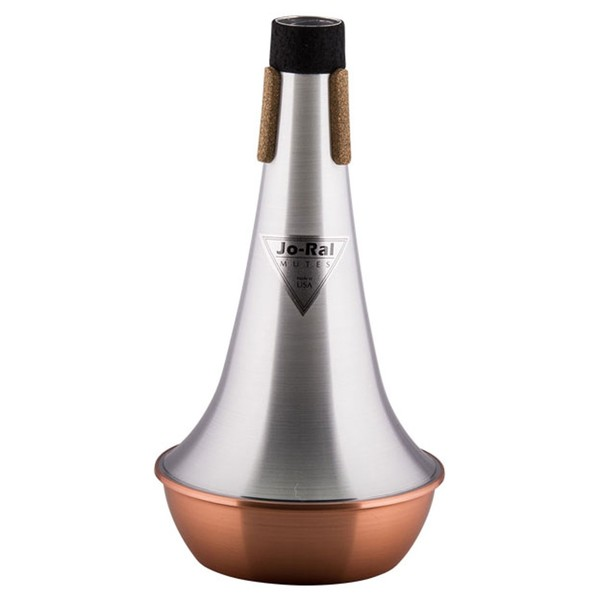 Jo-Ral Bass Trombone Straight Mute, Copper Bottom