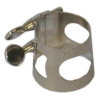 Conn-Selmer Large Bari Sax Ligature, Nickel Plated