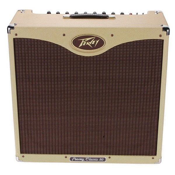 Peavey Classic 50 410 Guitar Valve Amp Combo, Tweed