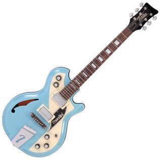 Italia Mondial Classic Electric Guitar, Blue
