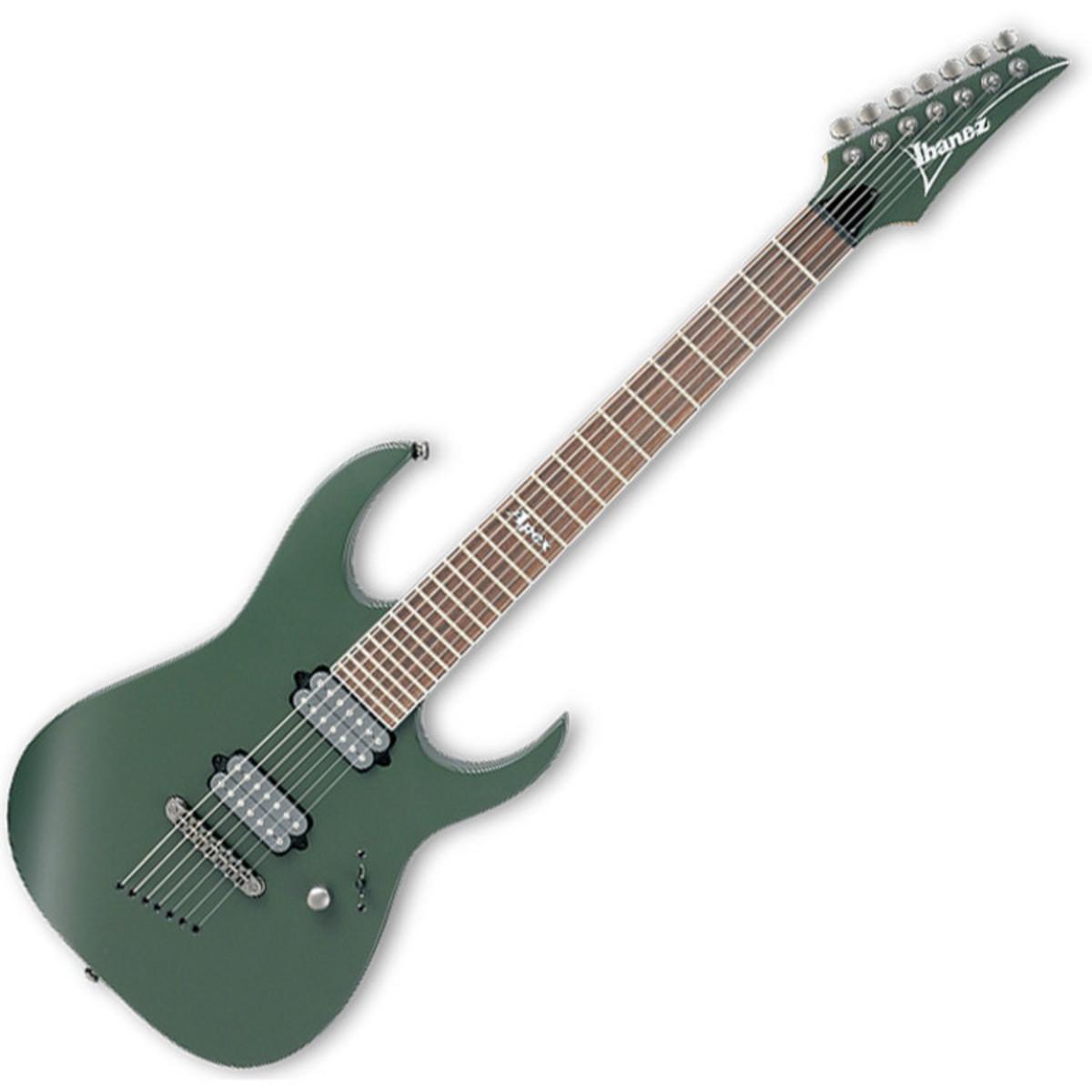 disc ibanez apex2 korn 7 string electric guitar green shadow flat at gear4music. Black Bedroom Furniture Sets. Home Design Ideas
