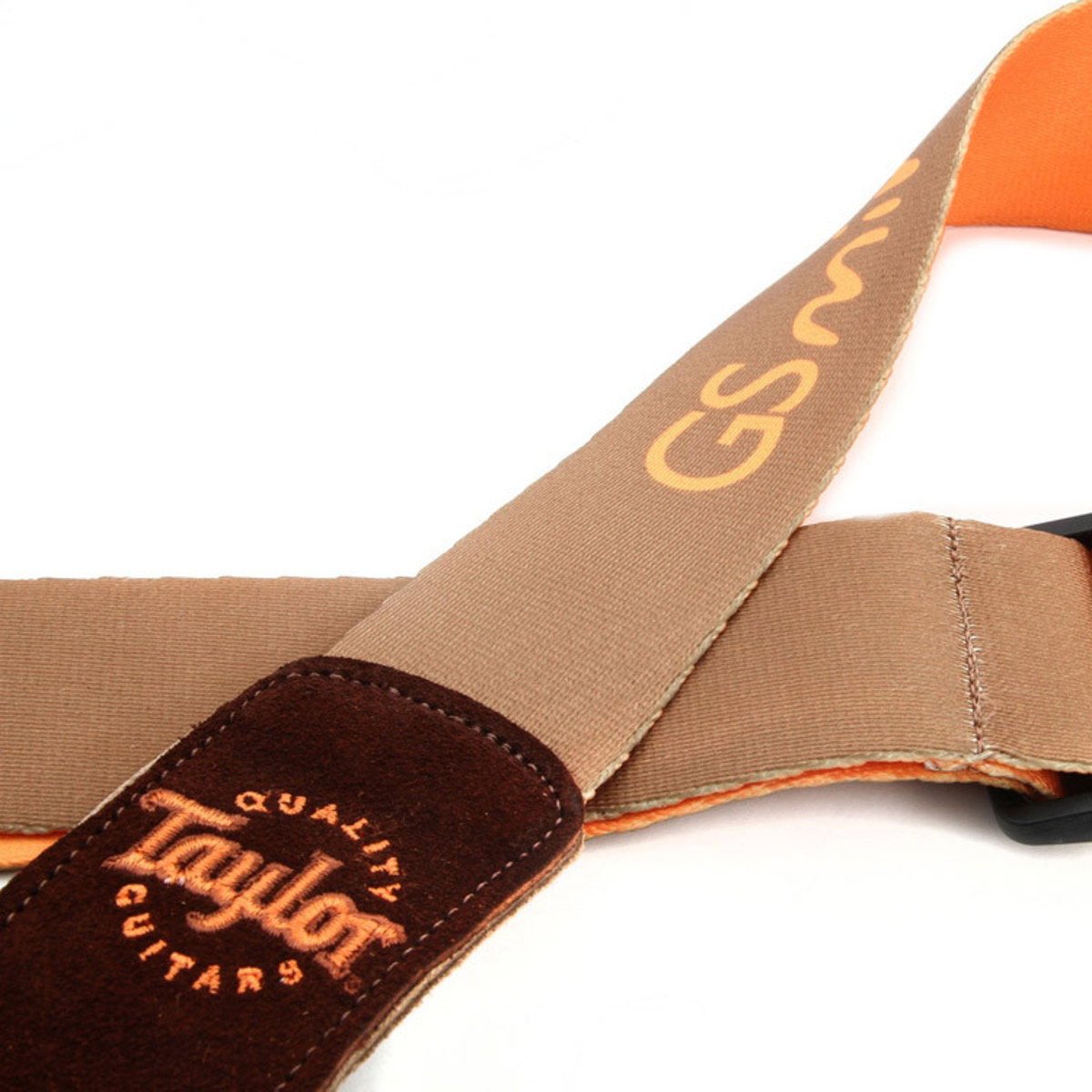Taylor GS Mini Guitar Strap Brown 2 Loading Zoom