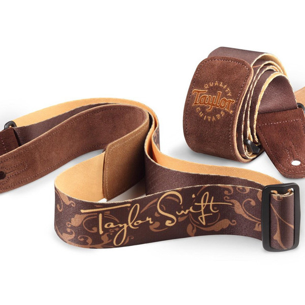 Taylor Guitars Taylor Swift Signature Guitar Strap, Brown