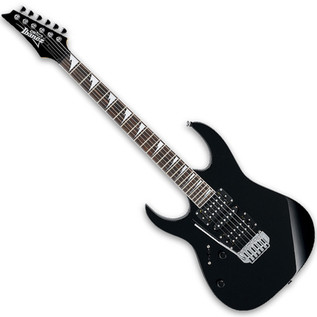 Ibanez GRG170DXL Left Handed Electric Guitar, Black Night