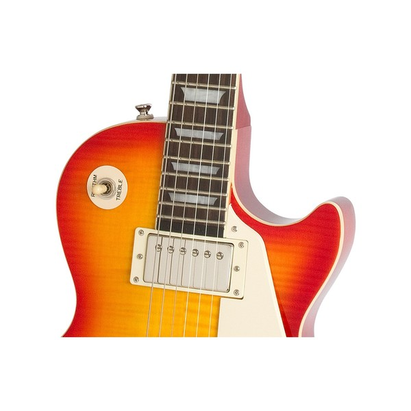 Epiphone Les Paul Ultra III Electric Guitar, Faded Cherryburst 3