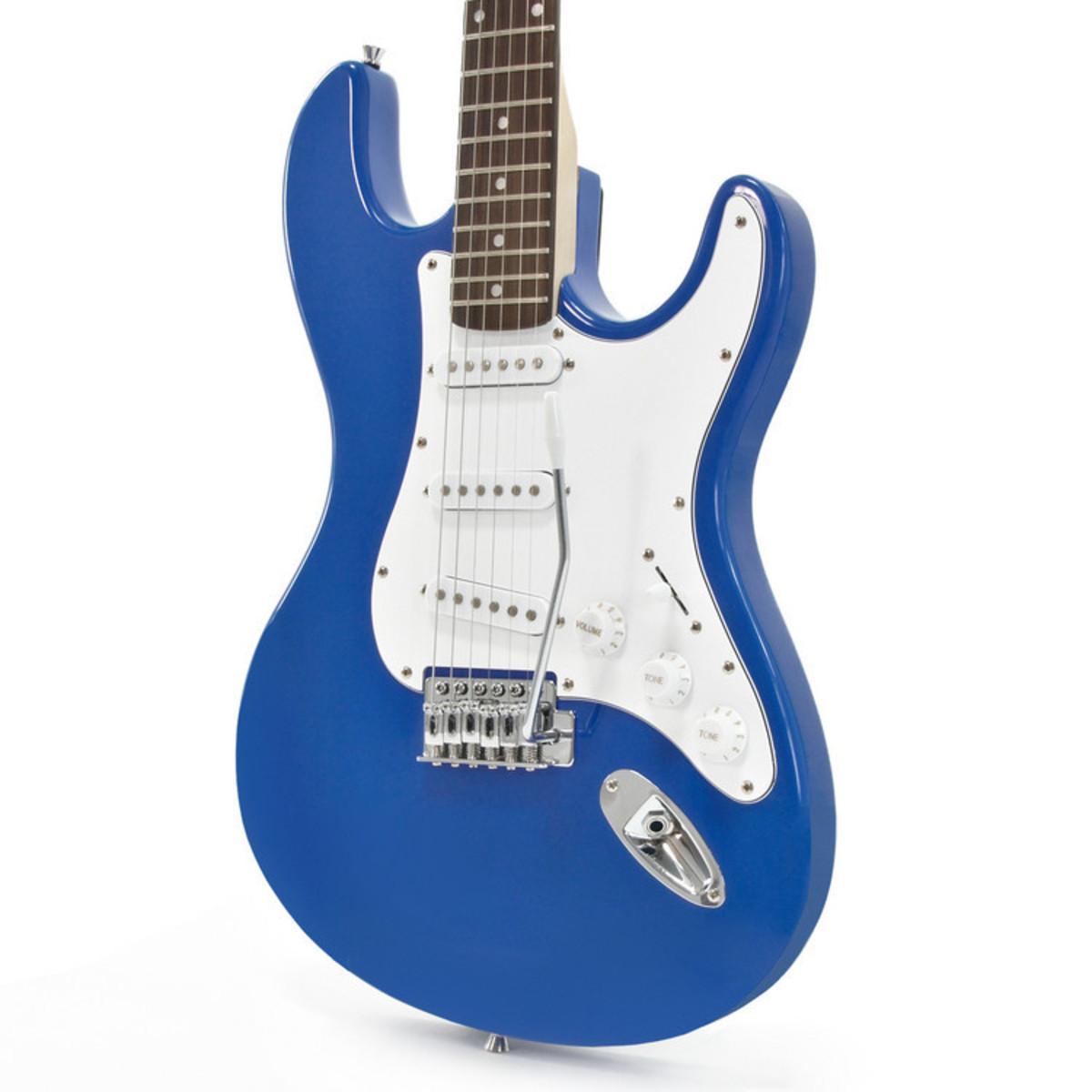 Rocksmith 2014 Xbox 360 + LA E-Gitarre, blau bei Gear4music