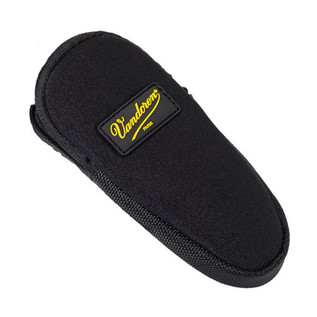 Vandoren Mouthpiece and Ligature Pouch, Black Neoprene