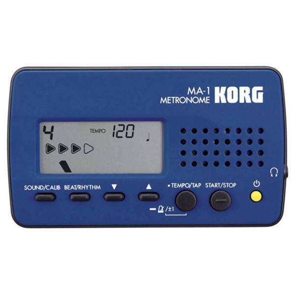 Korg MA-1 Digital Metronome, Blue/Black