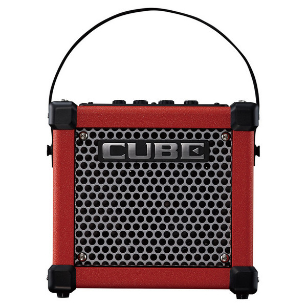 roland micro cube gx guitar amplifier red at gear4music. Black Bedroom Furniture Sets. Home Design Ideas