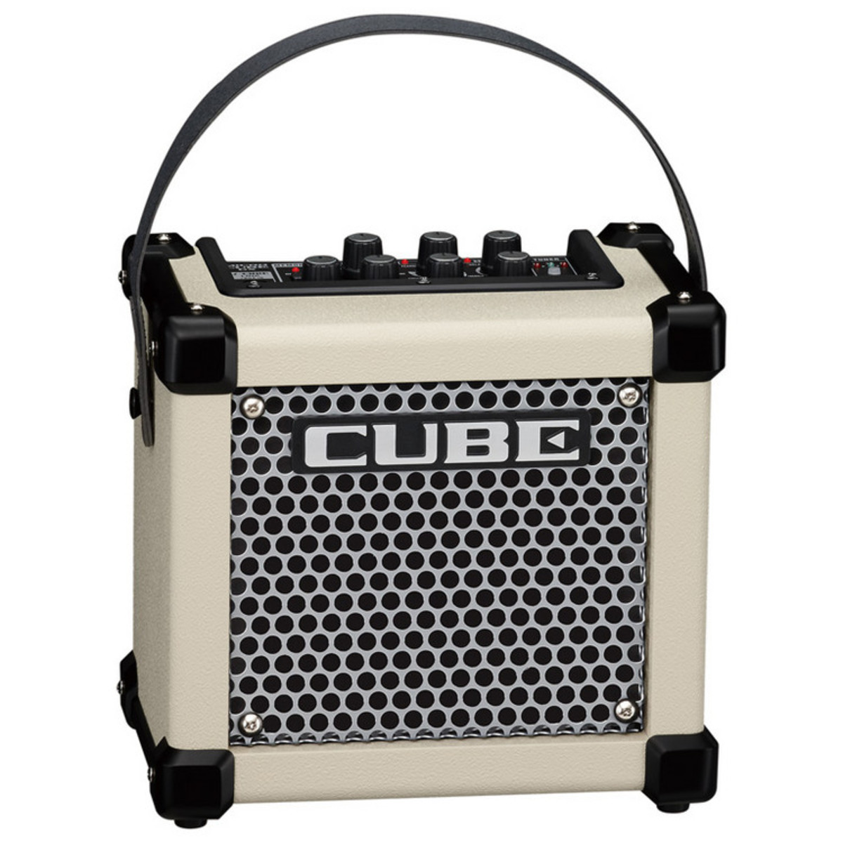 roland micro cube gx guitar amplifier white at gear4music. Black Bedroom Furniture Sets. Home Design Ideas
