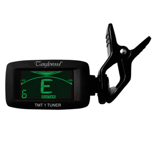 Tanglewood Multi-Tune Clip On Tuner for Stringed Instruments, Black