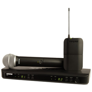 Shure BLX1288UK/PG30 Dual Headset & Handheld Wireless Mic System