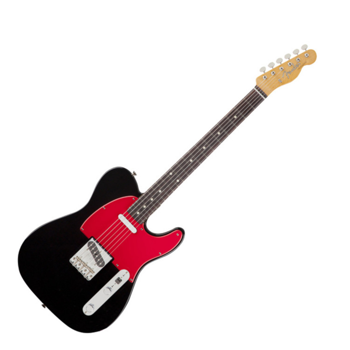 fender wilko johnson signature telecaster electric guitar black at gear4music. Black Bedroom Furniture Sets. Home Design Ideas