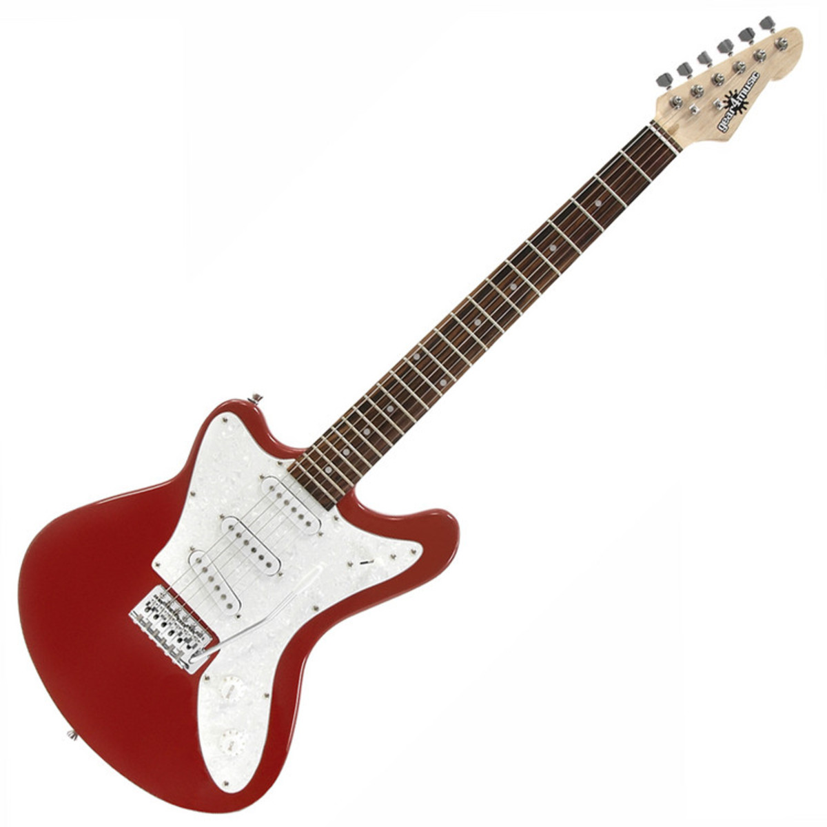 reverse seattle electric guitar by gear4music at gear4music. Black Bedroom Furniture Sets. Home Design Ideas