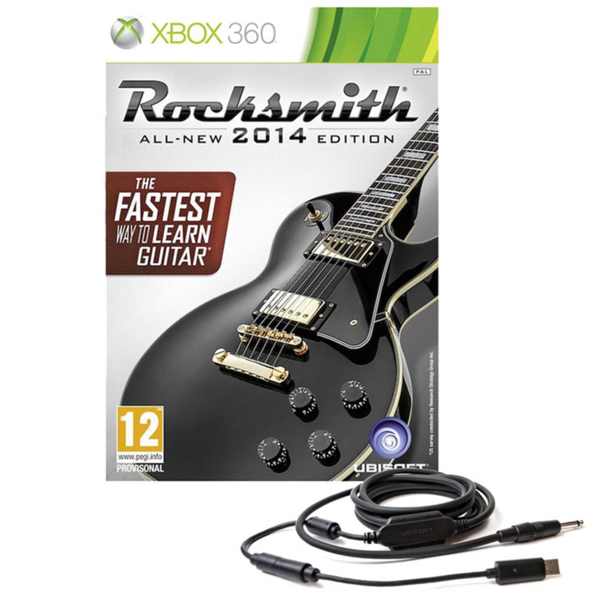 Rocksmith 2014 Para Xbox 360 Con Cable Real Tone Gear4music