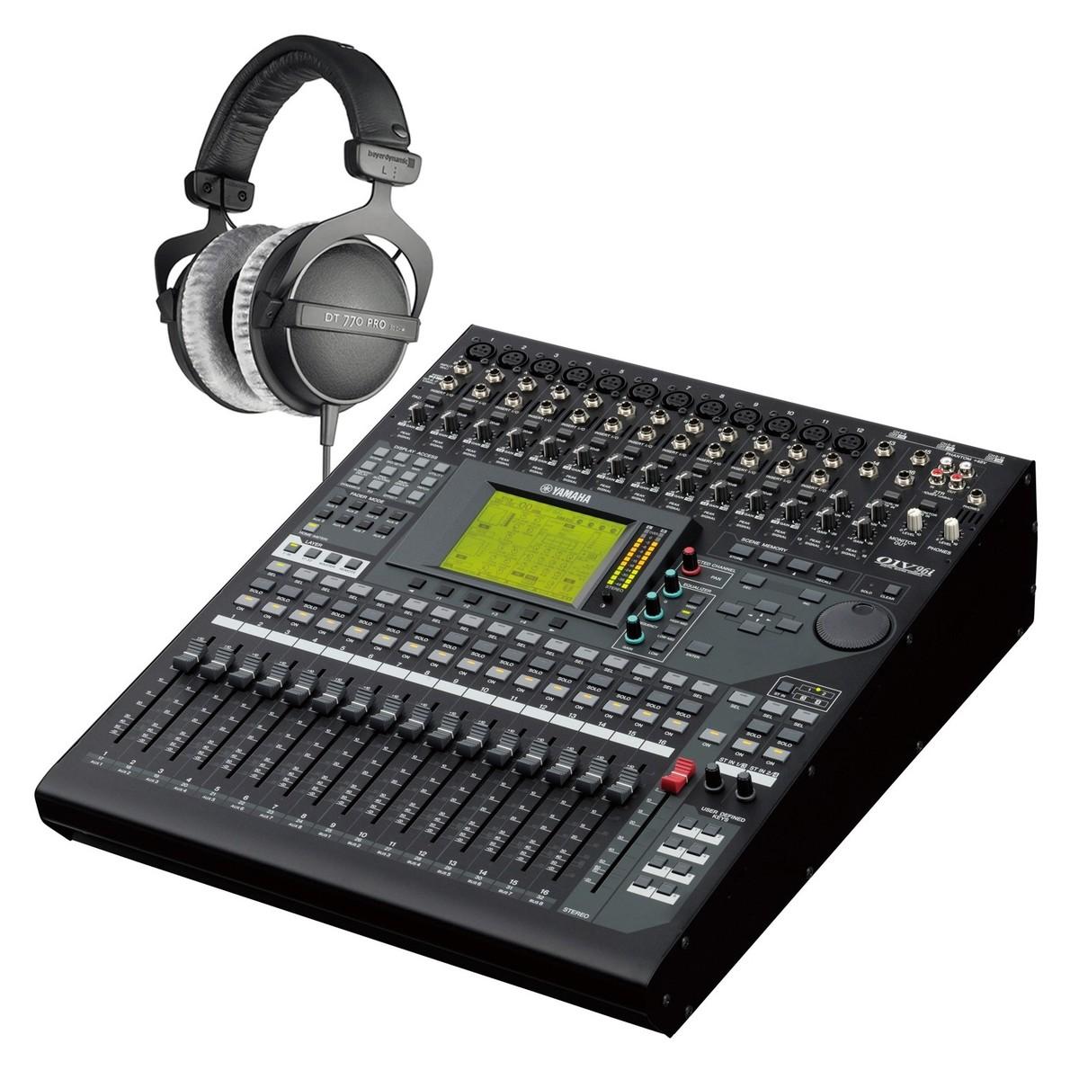 Yamaha 01v96i console de mixage num rique casque - Table de mixage virtuel gratuit en francais ...