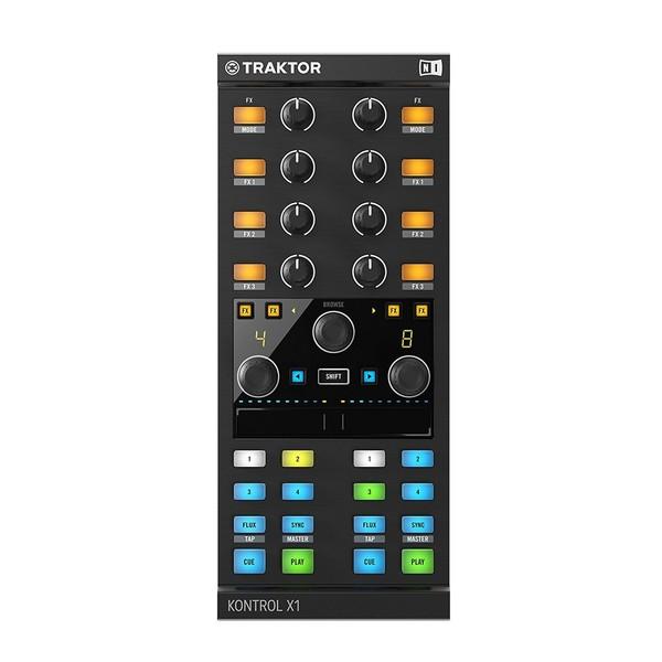 Native Instruments Traktor Kontrol X1 MK2 DJ Controller - Front View
