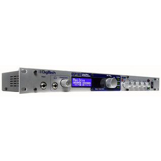 DigiTech GSP1101 Rackmount Guitar Multi-FX Processor Angle