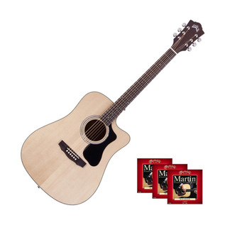 Guild D-140CE Dreadnought Cutaway Electro-Acoustic with FREE Strings