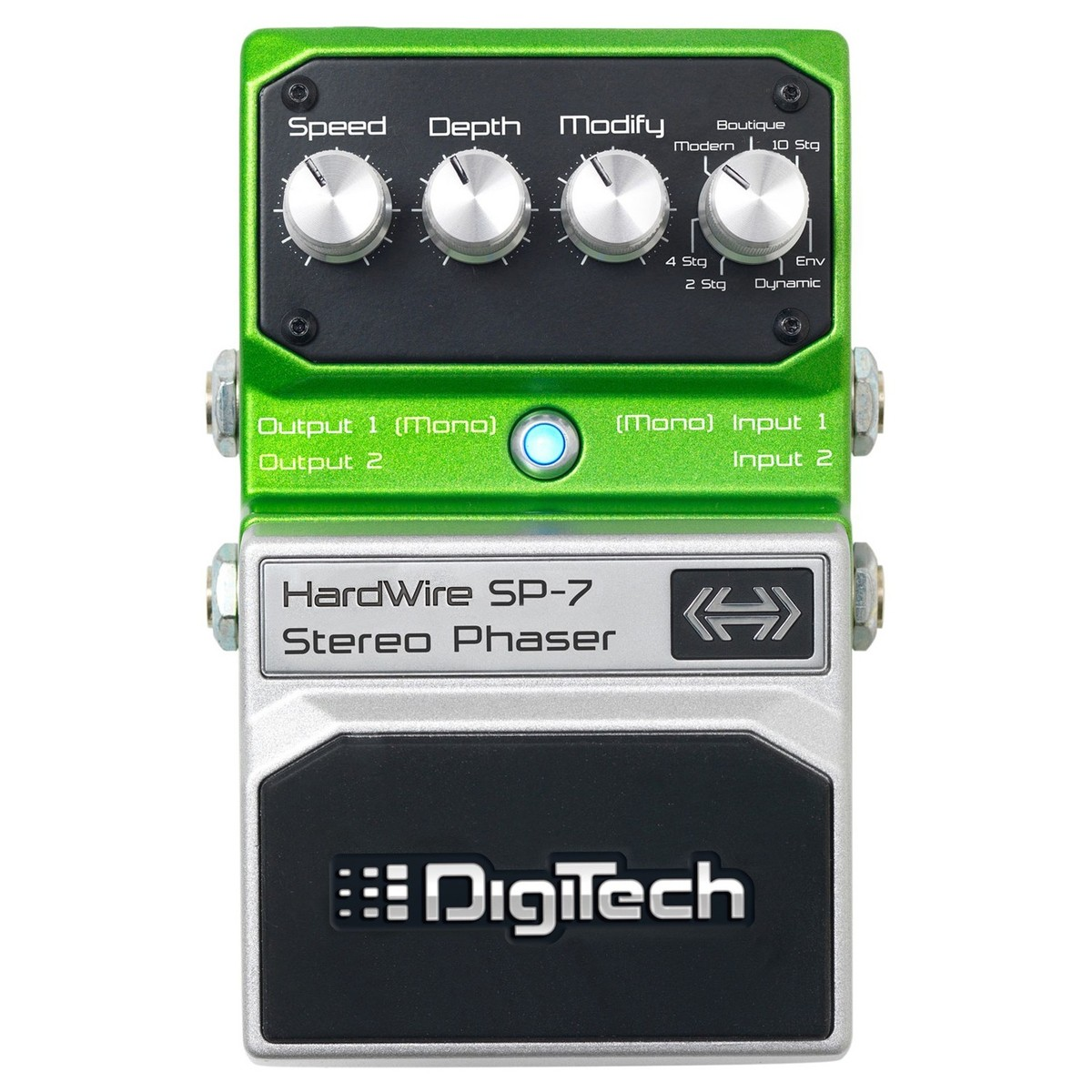 Click to view product details and reviews for Digitech Hardwire Sp 7 Stereo Phaser Effects Pedal.