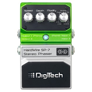 DigiTech Hardwire SP-7 Stereo Phaser Effects Pedal