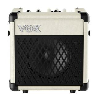 VOX MINI5 Rhythm IV Modeling Guitar Amp, Ivory and Black