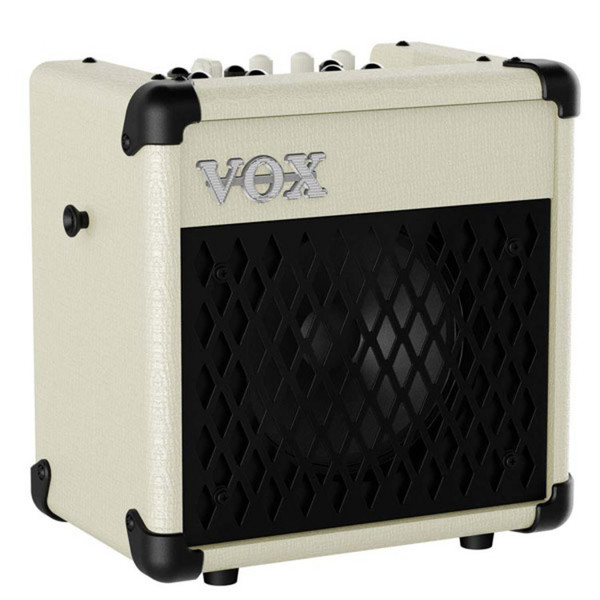 VOX MINI5 Rhythm IV Modeling Guitar Amp, Ivory and Black