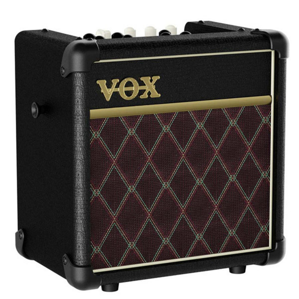 VOX MINI5 Rhythm CL Modeling Guitar Amp, Traditional Grille Cloth