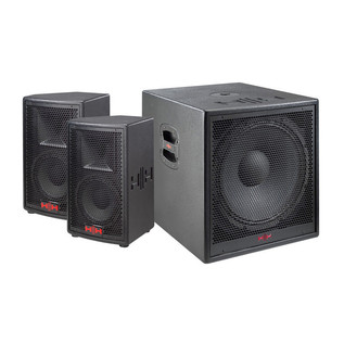 HH Electronics System 3 S3-815 Active Subwoofer + Satellite PA System
