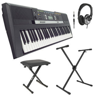 Yamaha PSR-E 243 Portable Keyboard with Stand, Bench and Headphones
