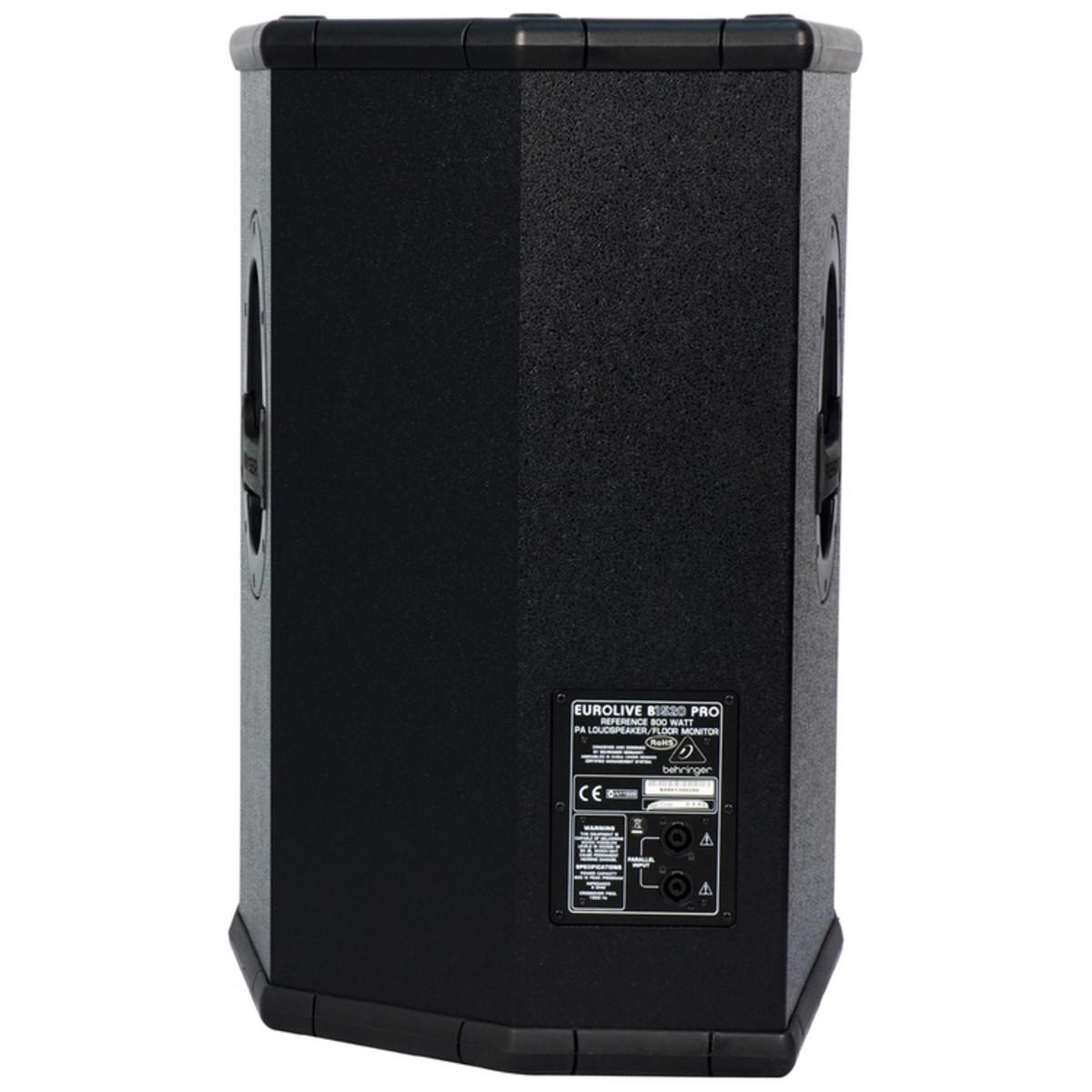 behringer b1520 eurolive pro passive pa speaker ex demo. Black Bedroom Furniture Sets. Home Design Ideas