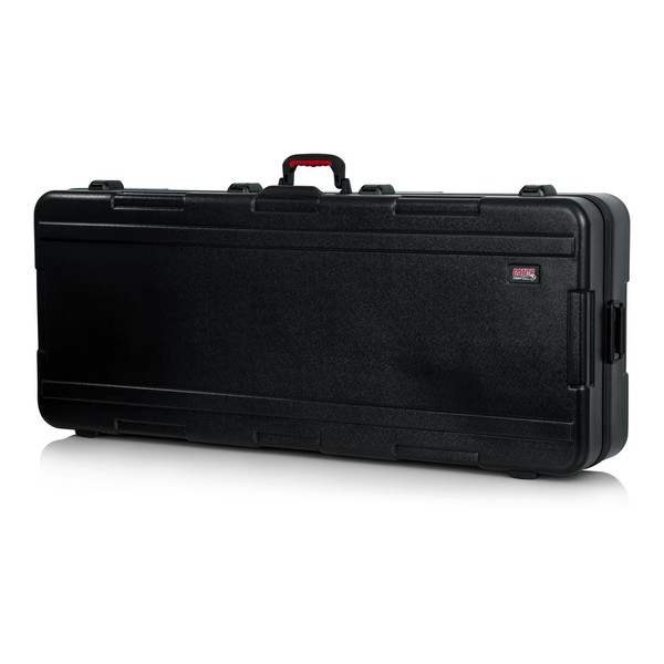 Gator GTSA-KEY76D ATA 76 Note Keyboard Case with Wheels, Extra Depth