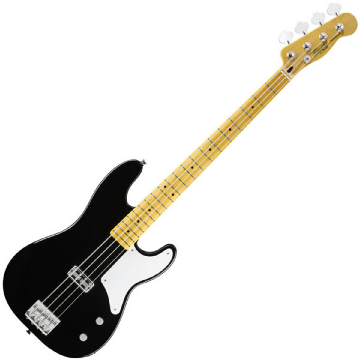 squier by fender vintage modified cabronita telecaster bass black at gear4music. Black Bedroom Furniture Sets. Home Design Ideas