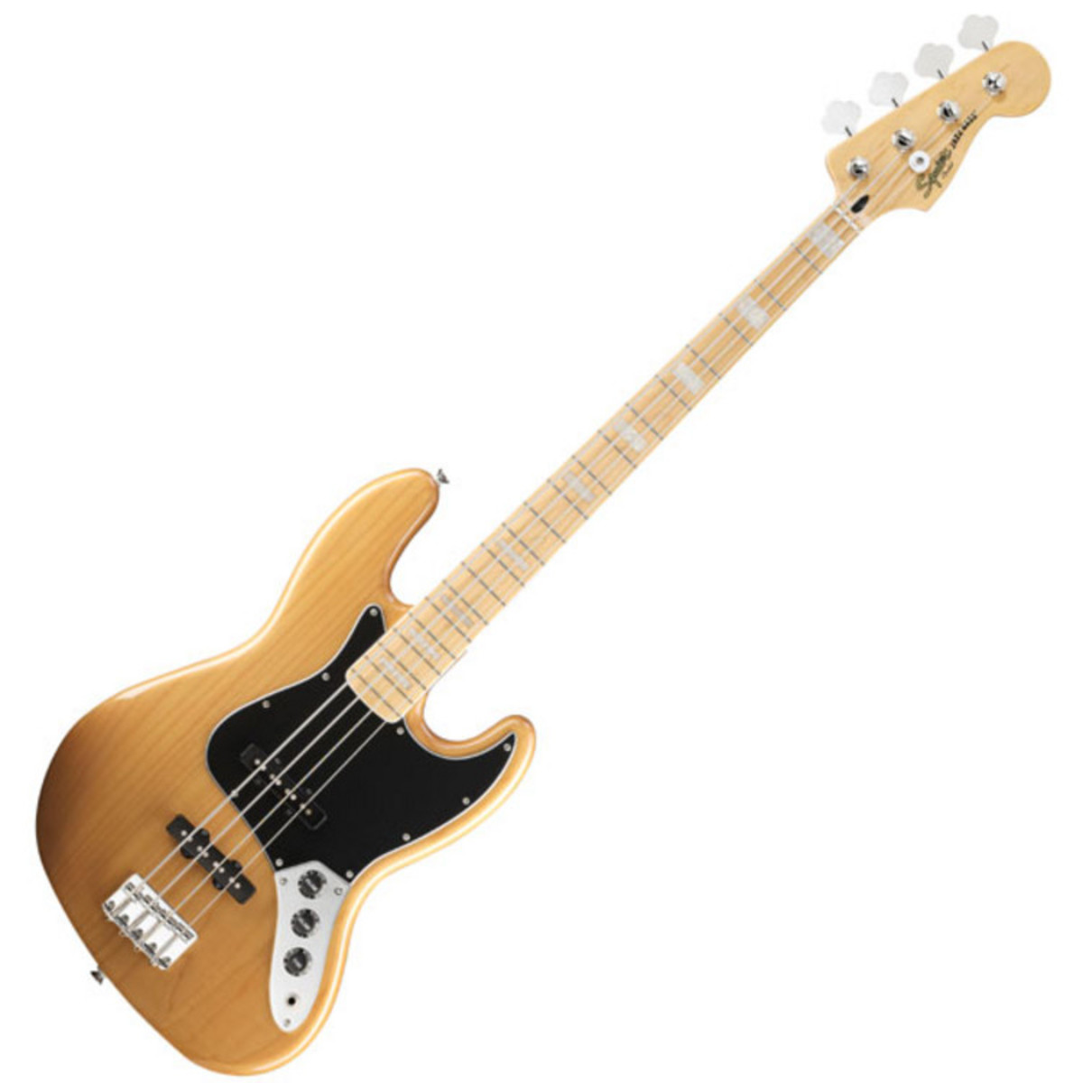 Squier By Fender Vintage Modified 77 Jazz Bass  Amber At