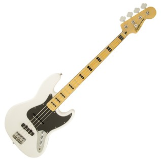 Squier Vintage Modified 70s Jazz Bass, Olympic White